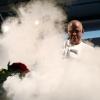 Lo chef inglese Heston Blumental sul palco di Identit� Golose 2008