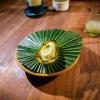Dessert: avocado grigliato e semi di mamey