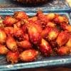 Tunicata (sea squirt in inglese), mollusco molto popolare in Corea: tolto l'involucro gommoso, si preleva il contenuto e si frigge