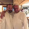 PEZZI DA NOVANTA. Norbert Niederkofler e Davide Scabin, coautori della cena al Rosapetra
