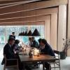 La luminosaprivate dining room, il salone per aziende otavolate numerose