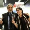 A sinistra, Roberto Ceraudo, vignaiolo calabrese e tra i grandi protagonisti di Milano Food & Wine Festival