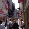 A passeggio per il quartiere di Myeongdong, molto frequentato anche per l'alta concentrazione di ristoranti