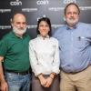 CATANIA. Corrado Assenza, Bianca Celano e Paolo Marchi