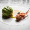 Yin Yang di gamberi rossi, quinoa allo zenzero e avocado con leche de tigre al mangodi Italo Bassi (foto Aromicreativi)