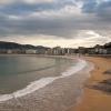 Lo spettacolare lungomare della Concha, nota spiaggia di San Sebastian