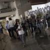 Fine conferenza: tutti al Dopolavoro, il ristorante di Paolo Casanova dell'Hangar Bicocca...