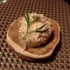 Torchon di foie gras marinato nel doen jang (pasta di fagioli di soia), vino di prugne dorate corane e kimchi bianco