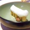 Traduzione della Tradizione:la pasta e fagioli di Scarello, con aglio gentile e aria di Grana Padano