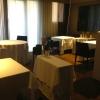 Tre sale, 12 tavoli, coperti che oscillano tra 20 e 35. La clientela è italiana per il 40%