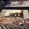 Le relazioni tra Kobe e Taiwan si sono rafforzate anche per un tragico destino comune: le calamità naturali. Il terremoto di Kobe del 17 gennaio 1995 provocò 6.400 vittime e 40mila feriti, danneggiando oltre 240mila palazzi. Nella foto, la prima sede del ristorante di cucina tradizionale Matsunoya dopo il sisma