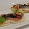 Acciughe del Cantabrico, salsa tonnata e nocciole del Piemonte