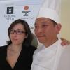 Alex Pilas con Luciana Doronzo (Regione Puglia)
