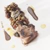 Alzavola arrostita, civet di alzavola, ostriche, alghe e sementi di Mauro Uliassi