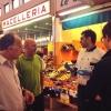 Maurizio Di Prima di Nassa Osteria, mercato Rombon