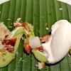 Midori - Crema di avocado, macadamia caramellate e sorbetto allo yogurt