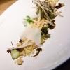 IlGelato al Grana Padano, crumble all'olio extravergine d'oliva, aceto balsamico e cremoso di mele di Denny Imbroisi