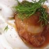 Burratina di Andria con ostrica rossa