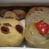 Il cestino del pane al ristorante Umami di Andria