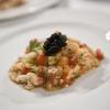 L'Insalata di aragosta, fagioli toscani e caviale nero Calvisius diCesare Casella