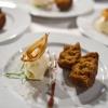 IlTortino di castagne e carote con gelato al polline di finocchio selvatico e riduzione di vin brûlée diFortunato Nicotra