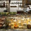 """The award for the best shop selling delicious food went toAgora,mezedopantopoleioin Thessaloniki, one thousand square metres of lovely food. As they say in the motivation """"it really has nothing to envy to the famousEatalyin Milan"""".Agorawas created byThomasandGiorgos Douzis.It's in 42 Pavlou Mela St., Thessaloniki. Tel: +30.23.10288008"""