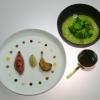 Piccione brasato e insalata - Incontro tra un salmì e un dolceforte Alessandro Salvatore Rapisarda – chef presso Di Gusto a Macerata