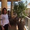 Ambra Angiolini sul balcone di Identità Expo