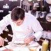 BARI. Con Paolo Marchi, sono intervenuti a parlare Felice Sgarra (nella foto), chef del ristorante Umami di Andria e Vincenzo Del Monaco della Bottega del Monaco di Grottagle (Taranto)