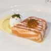 La terrina di salmone di Jonathan Benno, Lincoln, New York