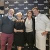BERGAMO. Al Coin sono intervenuti 3 pilastri della famiglia Cerea: accanto a Paolo Marchi, si riconosconola signora Bruna e i figli Rossella e Chicco