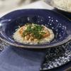 BERGAMO. ...Polenta di castagne con pomodoro piccante e pecorino