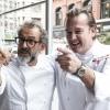Massimo Bottura, Osteria Francescana di Modena e Michael White, Marea a New York