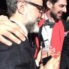 Massimo Bottura e Massimiliano Alajmo ormai a giochi fatti e, soprattutto, annunciati