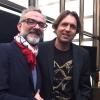 Massimo Bottura e Ben Shewry, chef neozelandese trapiantato a Melbourne in Australia