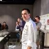 Più sussiegoso il viaggio per mare di Paolo Casagrande, lo chef veneto che primo tra tutti ha portato le tre stelle a Barcellona, nel Lasarte che fa parte della collezione di ristoranti mozzafiato di Martìn Berasategui