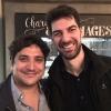 Mauro Colagreco e Massimiliano Alajmo. Per la prima volta è toccato al fratello chef rappresentare le Calandre ai 50 Best. In passato, a Londra e a New York, era sempre andato Raffaele Alajmo
