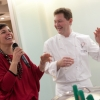Francesca Barberini presenta un cooking show di Chicco Cerea