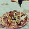 """Nervetto di vitello marinato e grigliato, radice amara e ristretto di """"Go"""" Daniele Groppo – chef de partie al Ristorante Terrazza Danieli dell'Hotel Danieli a Venezia"""