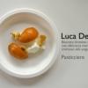 Uno dei tre dolci rubitt del pasticciere Luca De Santi: il Biscotto bretone croccante con albicocca marinata al lime e cremoso allo yogurt. De Santi ha anche firmato la merenda del pomeriggio con biscotti e gelatine.