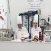 Angelo dello chef - Angelo e Roberta Castellani hanno presentato tutto ciò che può essere utile per uno chef e ristoratore: arredo tavola, forniture complete per cucine professionali, pregiate porcellane, tutto per il finger food, macchinari, specialità alimentari e articoli per la pasticceria