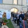 All'entrata di Astino, il pannello con tutti i partner di East Lombardy
