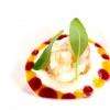 Gambero crudo e cotto, fiordilatte, lampone e mango, ossia come dare originalità a un crostaceo onnipresente