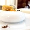 Plumcake di zucca e arancia con composta di zucca e caffè