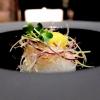 Ika somen:crudo di calamaro sfrangiato, caviale Kaluga Amur, verdure croccanti, uovo di quaglia e salsa soba dashi