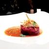 Tartare 2.0: tonno rosso, topinambur, pistacchio di Bronte e pomodoro