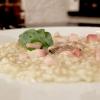 Sottacqua (risotto all'acqua di ostrica, ombrina, wasabi)