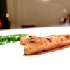 Calamaro, pepe rosa e lattuga