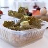 Cialda di alga nori con baccalà mantecato