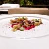 Cannellone al Guttus, lamponi e olive, con cioccolato bianco